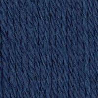 Lily Sugar'N Cream Aran Knitting Wool Yarn 71g -0009 Bright Navy